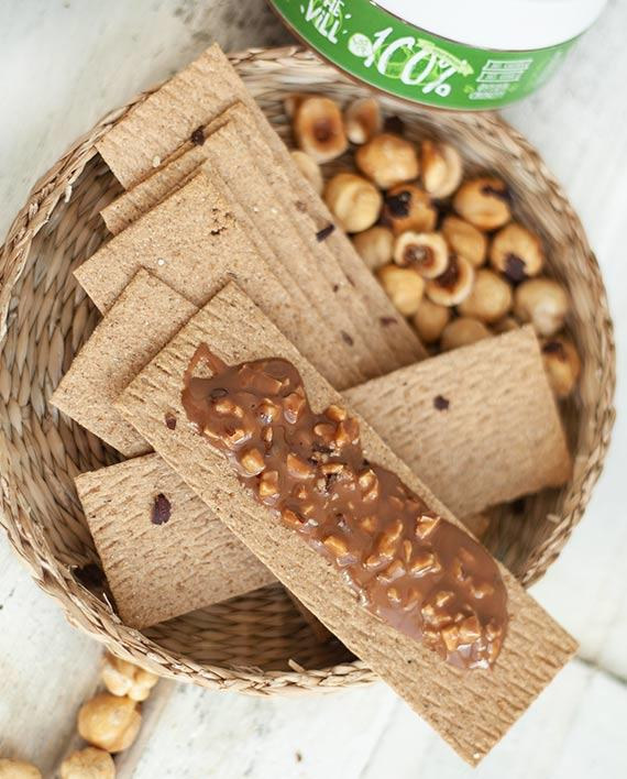 Паста из фундука Crunchy