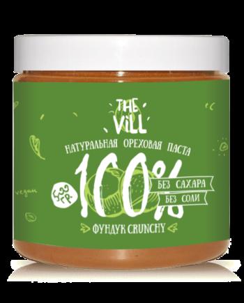 ореховая паста Фундук Crunchy the vill