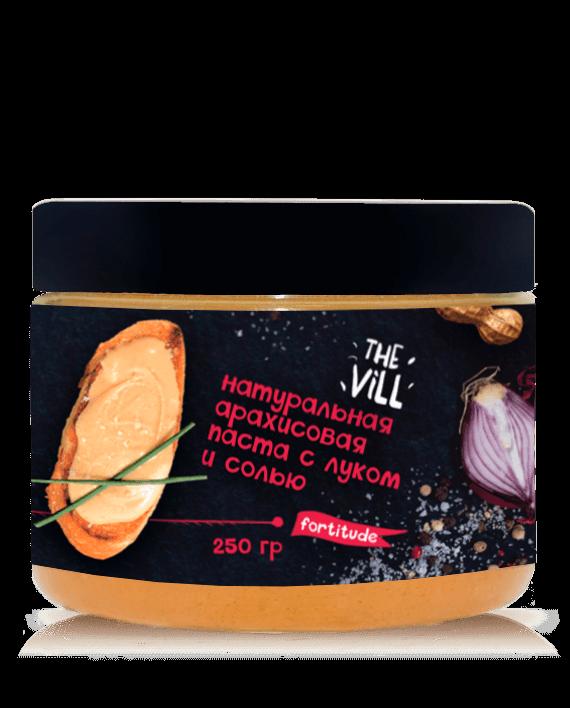 Арахисовая паста с солью и луком