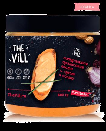 Арахисовая паста с луком и солью
