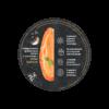 Арахисовая паста с солью и чеснок - крышка